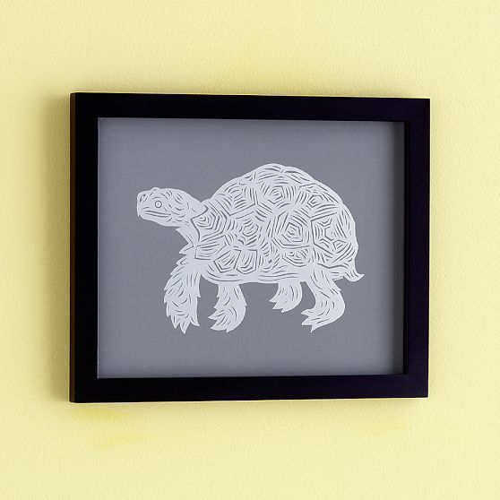 PATCH NYC Framed Wall Art, Turtle