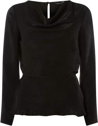 Dorothy Perkins Womens **Black Cowl Neck Top