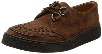 George Cox (ジョージ コックス) - [ジョージコックス] レースアップ D Ring Gibson Suede 14782 Snuff Suede UK 6(24.5 cm)