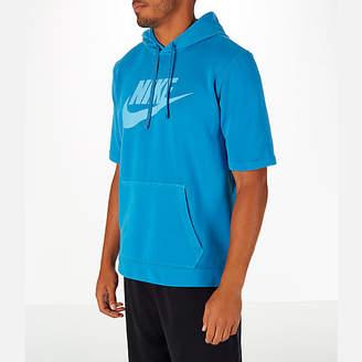 Nike Men's Sportswear Wash Pack Short-Sleeve Hoodie