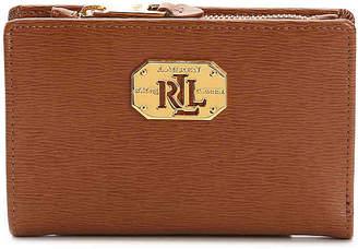 Lauren Ralph Lauren New Compact Leather Wallet - Women's