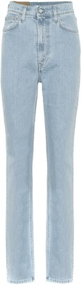 Helmut Lang Hi Spikes high-rise straight jeans