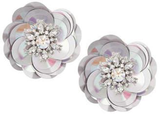 Kate Spade Crystal Floral Stud Earrings