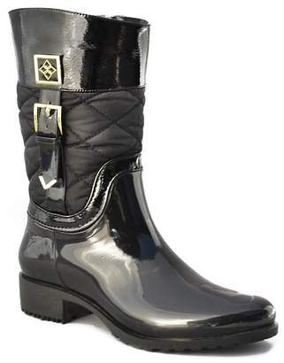 dav Coventry Mid Quilted Rain Boot