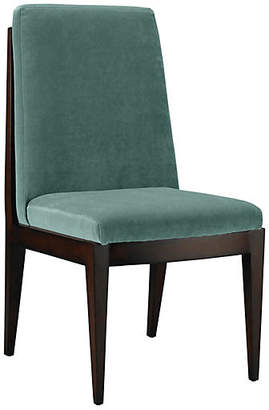 Mr & Mrs Howard Livingston Side Chair - Jade Velvet