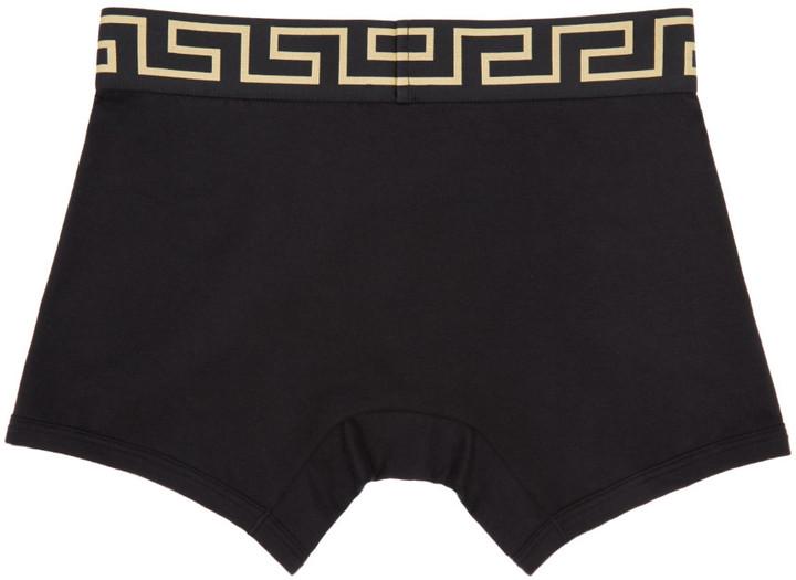 Versace Underwear Black Medusa Boxer Briefs 2
