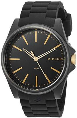 Rip Curl Men's Quartz Plastic and Silicone Sport Watch