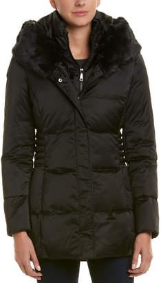 T Tahari Britney Short Puffer Coat