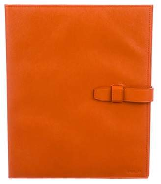 Prada Saffiano Leather iPad Case orange Saffiano Leather iPad Case