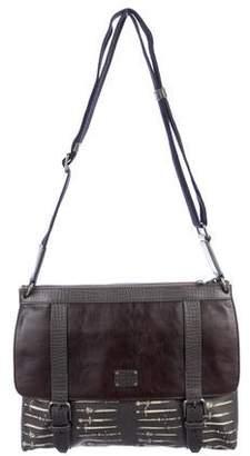 Dolce & Gabbana Sword Print Messenger Bag