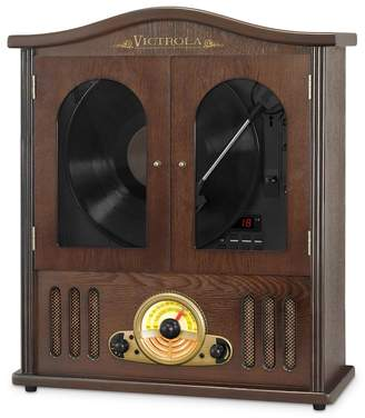 DAY Birger et Mikkelsen Victrola Wood Wall Mount Bluetooth Record Player with CD Player