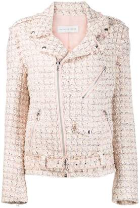 Faith Connexion tweed zip jacket