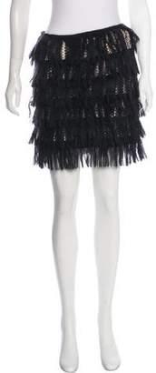 Missoni Textured Mini Skirt