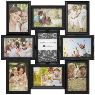 Trademark Global Collage Picture Frame with 9 Openings for 4x6 Photos by Lavish Home, Black