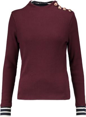 Petit Bateau Cotton rib-knit sweater $119 thestylecure.com