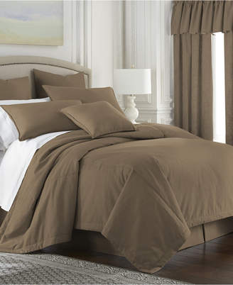 Colcha Linens Cambric Walnut Duvet Cover Twin Bedding