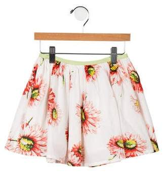 Morley Girls' Mona Gerbera Poppy Skirt w/ Tags