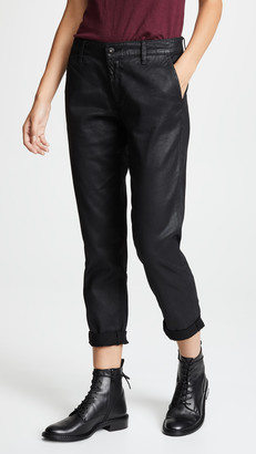 AG Jeans The Vintage Leatherette Caden Trousers