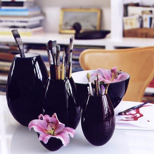 Holmegaard - 'cocoon' glassware by holmegaard