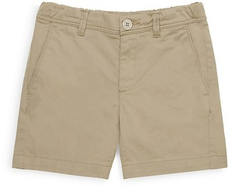 Moncler Boy's Twill Trouser Shorts - Sizes 4-14 $125 thestylecure.com