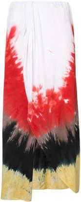 Baja East gradient skirt