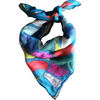 Lanvin Vintage Multicolour Silk Scarves