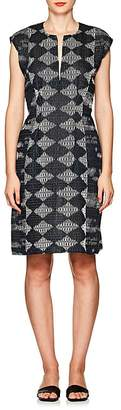 Zero Maria Cornejo Women's Geometric-Pattern Gauze Dress