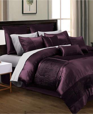 Hallmart Collectibles Kellen 200-Thread Count 14-Pc. King Comforter Set Bedding