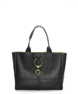 Frye Ilana Harness Leather Shopper Tote