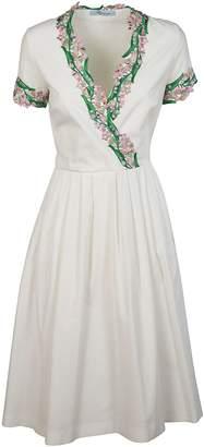 Blumarine Pleated Dress
