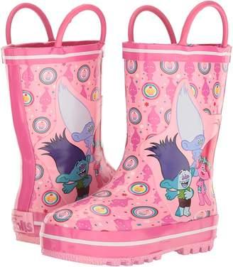 Favorite Characters Trolls Rain Boots TLF500 Girls Shoes