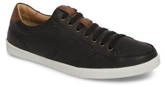 J&M 1850 Quinton Textured Low Top Sneaker