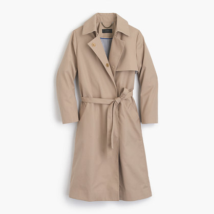 J.CrewBelted trench coat