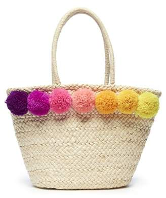 Sole Society Straw Tote