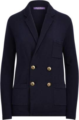 Ralph Lauren Notch Collar Cashmere Cardigan