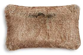 Hudson Park Collection Hudson Park Frosted Faux Fur Decorative Pillow, 12 x 20 - 100% Exclusive