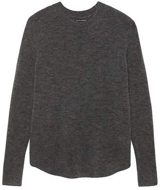 Banana Republic Aire Curved-Hem Sweater