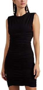 Alexander Wang Women's Ruched Stretch-Crepe Minidress - Black