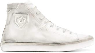 Saint Laurent moon plus high sneakers