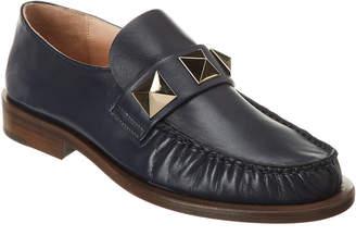 Valentino Rockstud Leather Loafer
