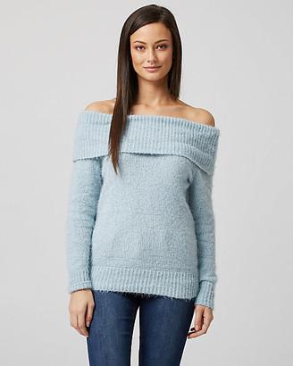 Le Château Knit Off-The-Shoulder Sweater