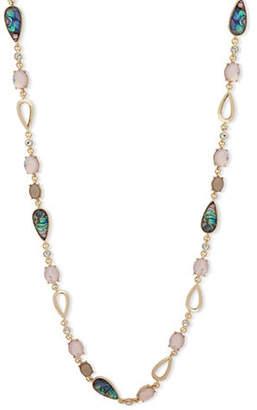 Anne Klein Aventura Goldtone Chain Necklace