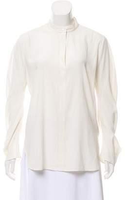 Zero Maria Cornejo Silk Long Sleeve Blouse w/ Tags