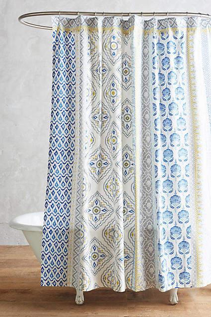 AnthropologieAnthropologie Azule Shower Curtain