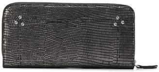Jerome Dreyfuss lizard skin effect wallet
