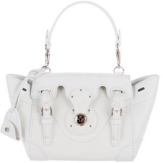 Ralph Lauren Patent Leather Mini Ricky Bag $695 thestylecure.com