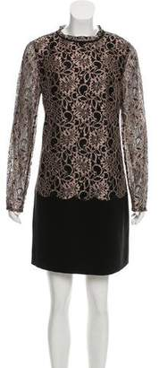 Ted Baker Lace Paneled Dress