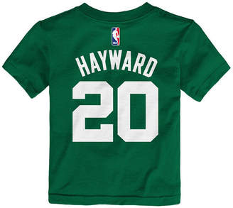 Nike Gordon Hayward Boston Celtics Replica Name & Number T-Shirt, Toddler Boys (2T-4T)