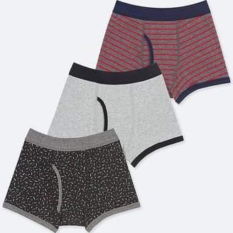 Uniqlo Boy's Boxer Briefs (set Of 3)
