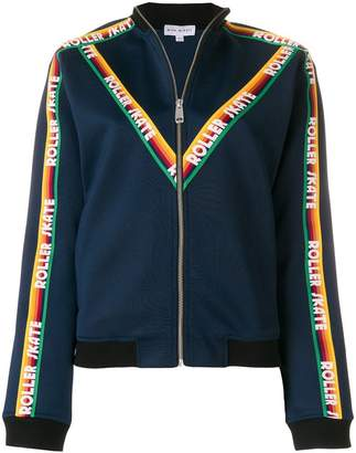 Mira Mikati ribbon embellished zip front jacket